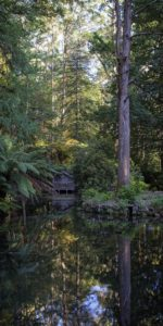 Alfred Nicholas Memorial Gardens Boat House Australian Photography
