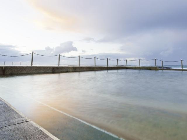 Mona Vale Rock Pool Sunrise Sydney Landscape Photography