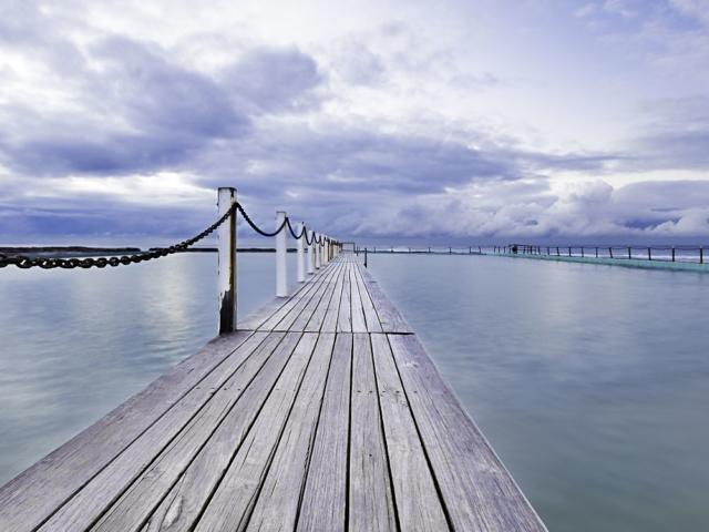 North Shore Pier Sydney Landscape Photography