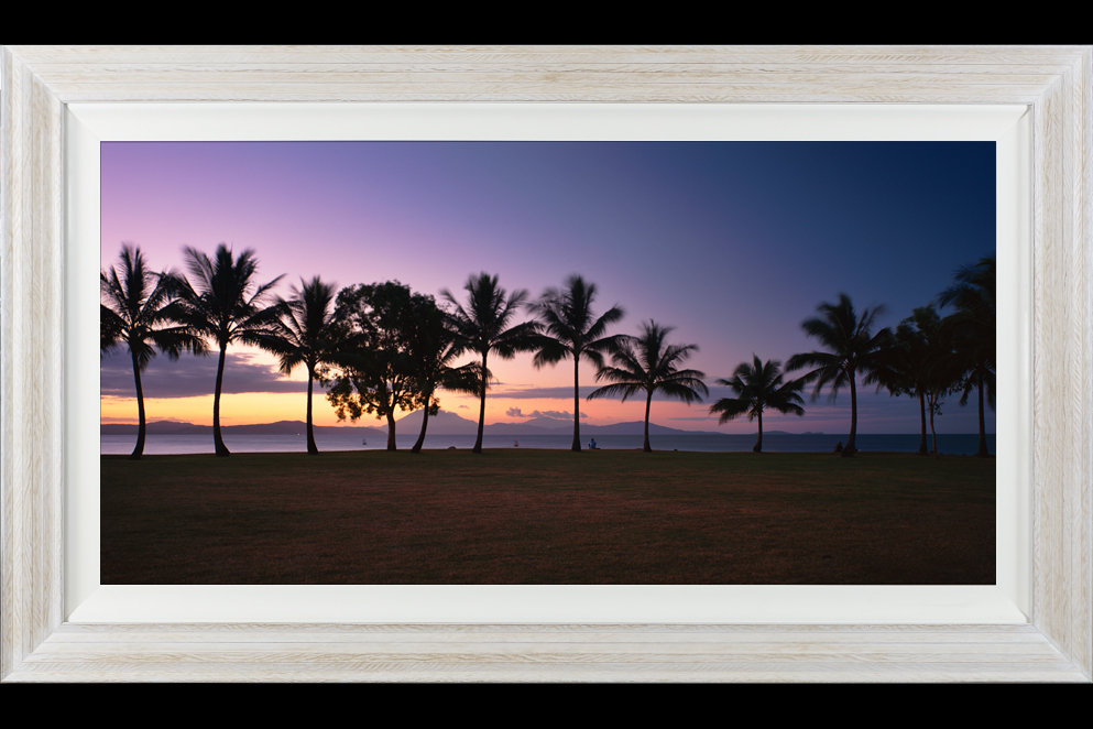 Stunning Distressed Vintage Timber Acrylic Print Rex Smeal Sunset
